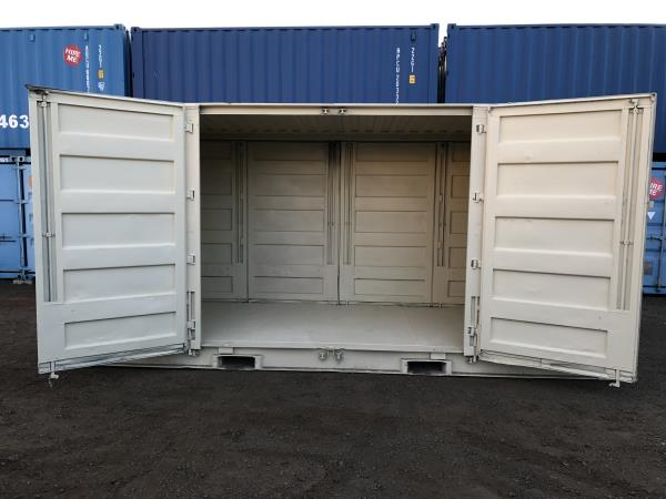 Side Opening Shipping Containers | shipping container ventilation
